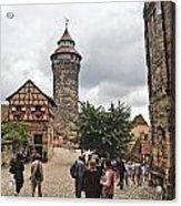 Nurnberg Germany Castle Acrylic Print