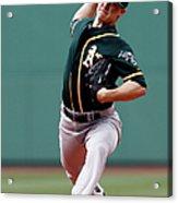 Oakland Athletics V Boston Red Sox 3 Acrylic Print