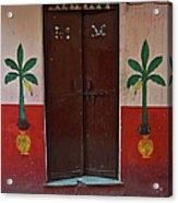 Old Doors India, Varanasi Acrylic Print