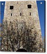 Old Sigulda Castle Ruins Acrylic Print