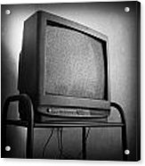 Old Television Acrylic Print