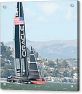 Oracle Team Usa Acrylic Print