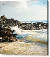 Paako Beach Makena Maui Hawaii Acrylic Print