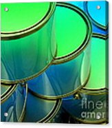 Paint Cans Acrylic Print