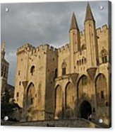 Palace Of The Pope - Avignon Acrylic Print