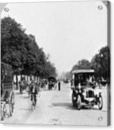 Paris Champs Elysees Acrylic Print
