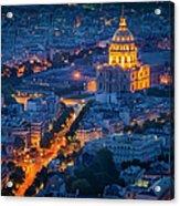 Paris Overhead Acrylic Print