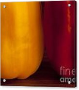 Peppers Still Life Close-up Acrylic Print