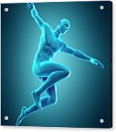 Person Jumping Acrylic Print