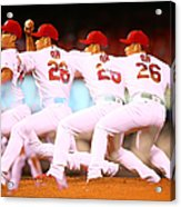 Philadelphia Phillies V St Louis Acrylic Print