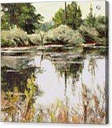 Placid Waters Acrylic Print