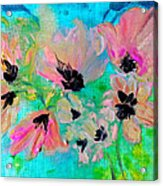 Poppies In Situ Acrylic Print