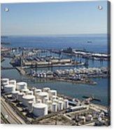 Port Of Tarragona, Catalonia Acrylic Print