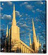 Portland Oregon Lds Temple Acrylic Print