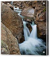 Poudre River Falls Fort Collins Acrylic Print