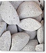Pumice Lava Rocks Acrylic Print