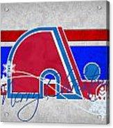 Quebec Nordiques Acrylic Print