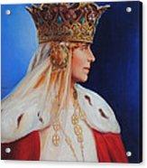 Queen Marie Of Romania Acrylic Print