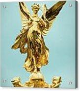 Queen Victoria Memorial In London Acrylic Print
