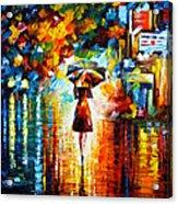 Rain Princess Acrylic Print