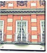 Red Brick Building Acrylic Print