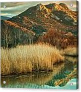 Reginu River And Punta Di Paraso Acrylic Print