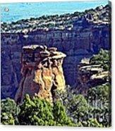 Rim Rock Colorado Acrylic Print