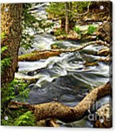 River Rapids Acrylic Print