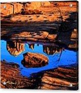 Rocky Road Acrylic Print