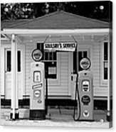 Route 66 - Soulsby Station Pumps Acrylic Print