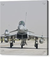 Royal Air Force Ef-2000 Typhoon Acrylic Print