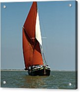 Sailing Barge Acrylic Print