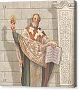 Saint Augustine Acrylic Print by John Alan  Warford