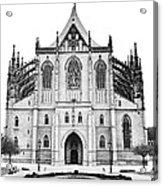 Saint Barbara Church  Acrylic Print