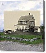 Sakonnet Point In Little Compton Rhode Island Acrylic Print