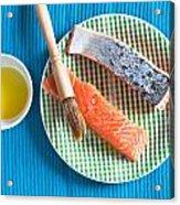 Salmon Fillets Acrylic Print