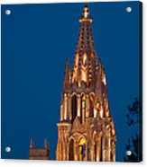 San Migel De Allende, Mexico Acrylic Print