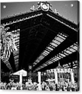 Santiago Central Railway Station Chile Acrylic Print