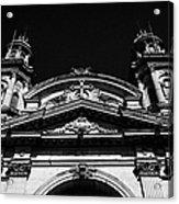 Santiago Metropolitan Cathedral Chile Acrylic Print