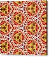 Seamlessly Tiled Kaleidoscopic Mosaic Pattern Acrylic Print