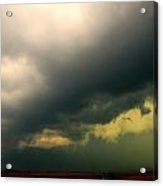 Severe Cells Over South Central Nebraska Acrylic Print