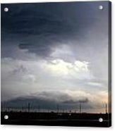 Severe Storm Cells Developing Over South Central Nebraska Acrylic Print