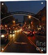 D8l-152 Short North Gallery Hop Photo Acrylic Print