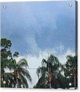 Skyscape Tornado Forming Acrylic Print