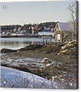 South Bristol On The Coast Of Maine Acrylic Print