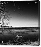 south Saskatchewan river near saskatoon Canada Acrylic Print