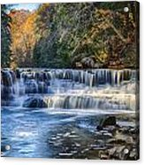 Squaw Rock - Chagrin River Falls Acrylic Print