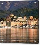 St Florent In Corsica Acrylic Print