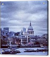St Paul's Acrylic Print by Maeve O Connell