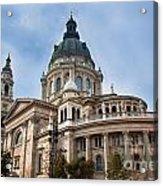St. Stephen's Basilica In Budapest Acrylic Print